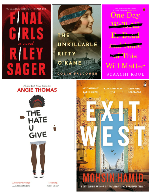 My Top 5 Favorite Books of theYear